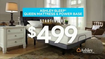Ashley HomeStore Presidents Day Mattress Sale TV Spot, 'Final Week: Queen Mattress & Power Base' Song by Midnight Riot - Thumbnail 4