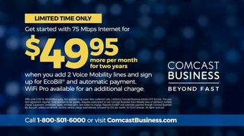 Comcast Business TV Spot, 'Fast Business Solutions' - Thumbnail 10