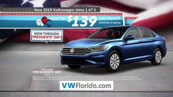 Volkswagen Presidents Day Deals TV Spot, 'Florida: Drive Home a Winner' [T2] - Thumbnail 4