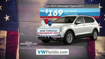 Volkswagen Presidents Day Deals TV Spot, 'Florida: Drive Home a Winner' [T2] - Thumbnail 5
