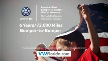 Volkswagen Presidents Day Deals TV Spot, 'Florida: Drive Home a Winner' [T2] - Thumbnail 6