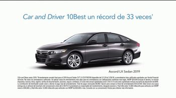 2019 Honda Accord TV Spot, 'Usual Car Dealer Stuff' [Spanish] [T2] - Thumbnail 4