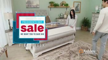 Ashley HomeStore Presidents Day Sale TV Spot, 'Final Week: Sofas & Beds' Song by Midnight Riot - Thumbnail 2