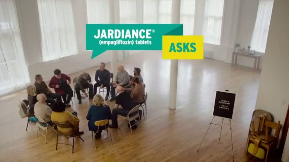 Jardiance TV Commercial, 'Jardiance Asks: Thinking About Your Heart?' -  Video