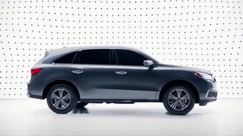 2019 Acura MDX TV Spot, 'Presidents Day: By Design: City' [T2] - 5 commercial airings
