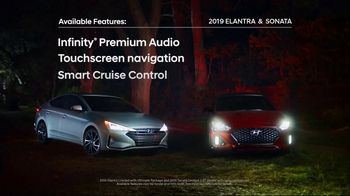 2019 Hyundai Sonata TV Spot, 'Elantra & Sonata: Never Looked So Good' [T2] - 4 commercial airings