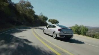 Honda Presidents Day Sale TV Spot, 'Commanding Offers: Civic and Accord' [T2] - Thumbnail 3