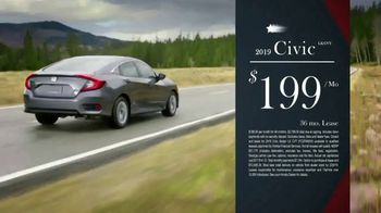 Honda Presidents Day Sale TV Spot, 'Commanding Offers: Civic and Accord' [T2] - Thumbnail 5