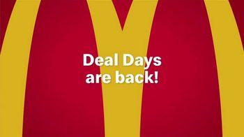 McDonald's Deal Days TV Spot, 'Back: Hamburgers and McNuggets' - Thumbnail 1
