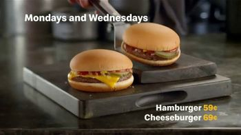 McDonald's Deal Days TV Spot, 'Back: Hamburgers and McNuggets' - Thumbnail 2
