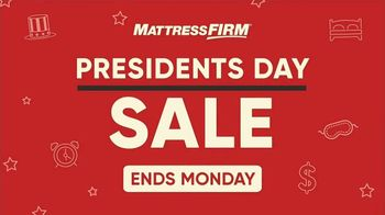 Mattress Firm Presidents Day Sale TV Spot, 'Free Base'