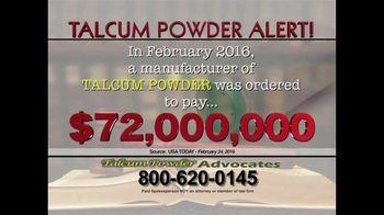 Talcum Powder Advocates TV Spot, 'Ovarian Cancer' - Thumbnail 2