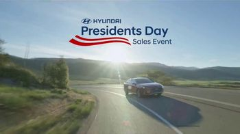 Hyundai Presidents Day Sales Event TV Spot, 'Making History' [T2]