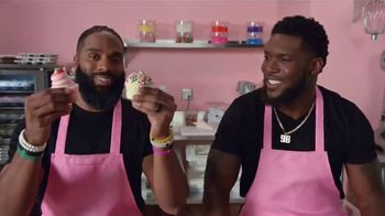 Microsoft Surface Pro 6 TV Spot, 'Cupcakes: $200 Off' Ft. Brian Orakpo, Michael Griffin