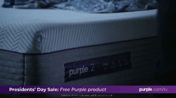 Purple Mattress Presidents Day Sale TV Spot, 'Don't Let Your Mattress Steal Your Sleep' - Thumbnail 2