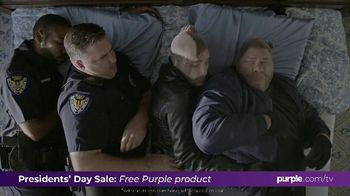 Purple Mattress Presidents Day Sale TV Spot, 'Don't Let Your Mattress Steal Your Sleep'