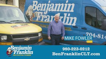Benjamin Franklin Plumbing TV Spot, '$57 Off Repair' - Thumbnail 1