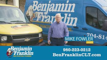 Benjamin Franklin Plumbing TV Spot, '$57 Off Repair' - Thumbnail 2