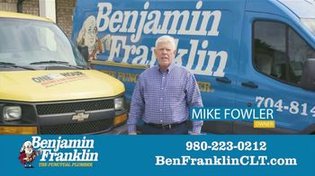 Benjamin Franklin Plumbing TV Spot, '$57 Off Repair' - Thumbnail 3