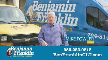 Benjamin Franklin Plumbing TV Spot, '$57 Off Repair' - Thumbnail 4