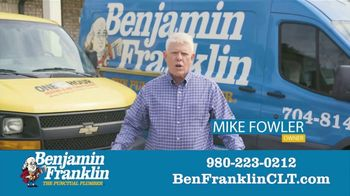 Benjamin Franklin Plumbing TV Spot, '$57 Off Repair' - Thumbnail 5