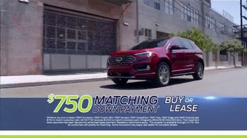 Ford Matching Down Payment Sales Event TV Spot, '2019 Edge' [T2] - Thumbnail 5
