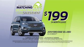 Ford Matching Down Payment Sales Event TV Spot, '2019 Edge' [T2] - Thumbnail 6