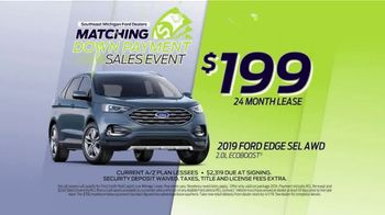 Ford Matching Down Payment Sales Event TV Spot, '2019 Edge' [T2] - Thumbnail 7