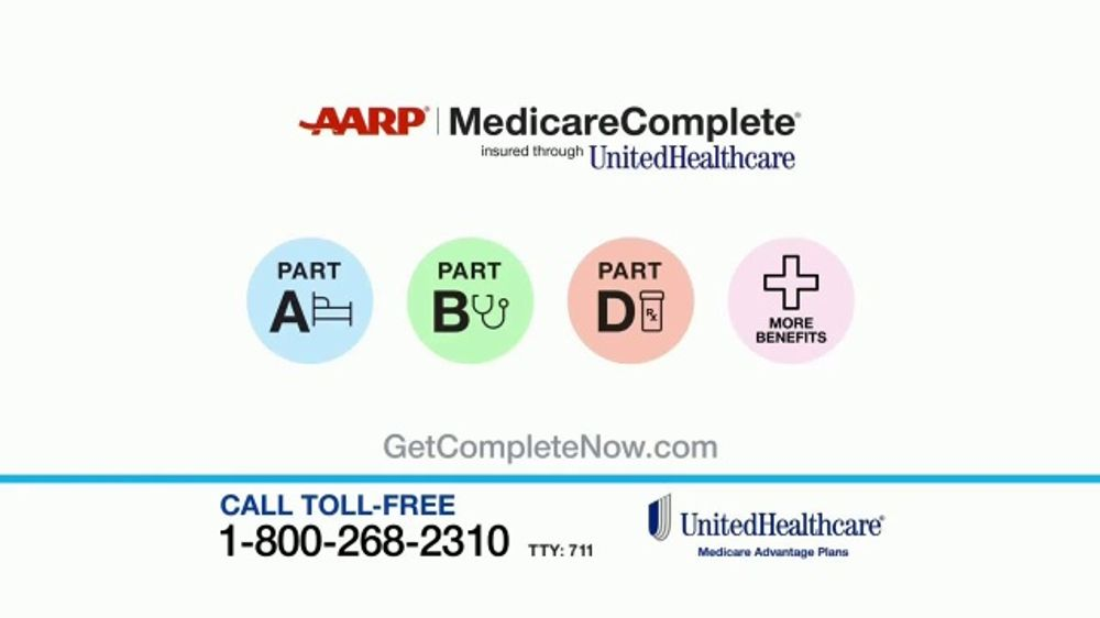 Aarp Health Insurance >> Unitedhealthcare Aarp Medicarecomplete Tv Commercial More Than Great Benefits Video