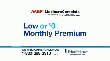 UnitedHealthcare AARP MedicareComplete TV Spot, 'More Than Great Benefits' - Thumbnail 3