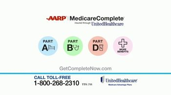 UnitedHealthcare AARP MedicareComplete TV Spot, 'More Than Great Benefits' - Thumbnail 7