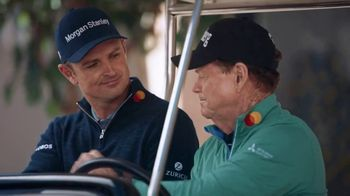 Mastercard TV Spot, 'Tom and Justin Off the Course: Caddie' Feat. Tom Watson, Justin Rose - Thumbnail 9