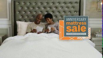 Ashley HomeStore Anniversary Mattress Sale TV Spot, 'Going On Now: Mattress' Song by Midnight Riot - Thumbnail 2