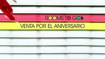 Rooms to Go Venta por el Aniversario TV Spot, 'Sin compra mínima' cancion de Portugal. The Man [Spanish] - Thumbnail 1