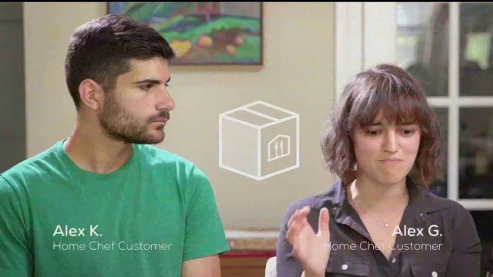 Home Chef TV Commercial, 'Alex and Alex'