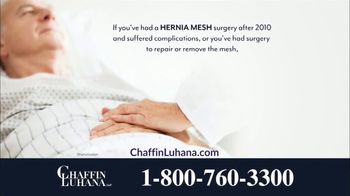 Chaffin Luhana TV Spot, 'Hernia Mesh Implants' - Thumbnail 5