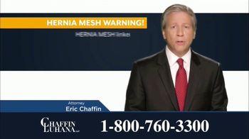 Chaffin Luhana TV Spot, 'Hernia Mesh Implants' - Thumbnail 6