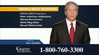 Chaffin Luhana TV Spot, 'Hernia Mesh Implants' - Thumbnail 7