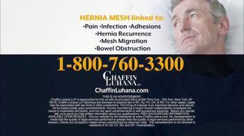 Chaffin Luhana TV Spot, 'Hernia Mesh Implants' - Thumbnail 8