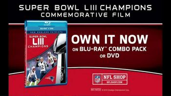 NFL Super Bowl LIII Champions Home Entertainment TV Spot, 'Patriots' - Thumbnail 9