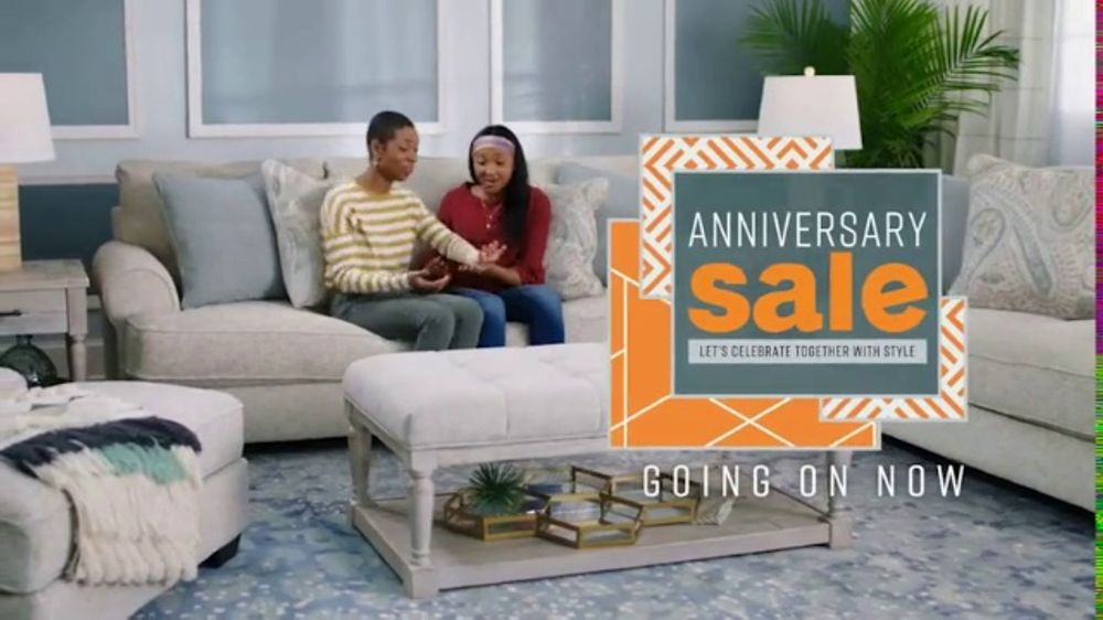 Ashley Homestore Anniversary Sale Tv Commercial Going On Now