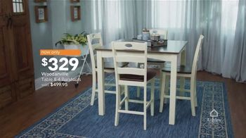 Ashley HomeStore Best of the Best TV Spot, 'Woodanville Table' - Thumbnail 3