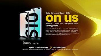 Sprint TV Spot, 'The Wake Up America Tour: Galaxy S10 Series' - Thumbnail 7