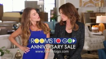 Rooms to Go Anniversary Sale TV Spot, 'Once a Year Sexy' Featuring Sofia Vergara, Cindy Crawford