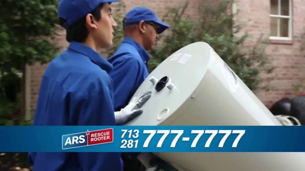 ARS Rescue Rooter Water Heater Special TV Commercial, 'Call the Pros'