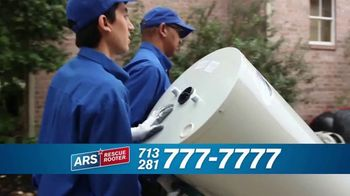 ARS Rescue Rooter Water Heater Special TV Spot, 'Call the Pros'