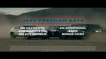 Jeep Freedom Days TV Spot, 'Legends Aren't Born, They're Made' Song by The Kills [T2] - Thumbnail 6