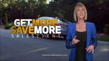 Honda Get More Save More Sales Event TV Spot, '2018 Accord' [T2] - Thumbnail 1