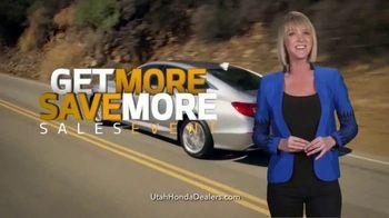 Honda Get More Save More Sales Event TV Spot, '2018 Accord' [T2] - Thumbnail 8