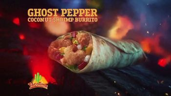 TacoTime Ghost Pepper Coconut Shrimp Burrito TV Spot, 'Secret Ingredient'